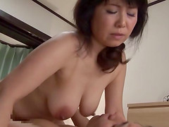 Curvaceous Japanese milf eaten out and penetrated erotically