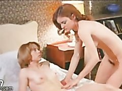 Hot Lesbian Action Featuring Chris Jordan & Sarah Nicholson