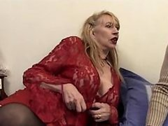 Sexy Mature Blonde Babe Gets Her Shaved Pussy and her Hot Ass Fucked
