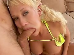 Carly Parker the sweet blonde with pigtails has rough sex