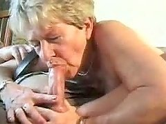 Amateur Granny has some fun in shocking homemade video
