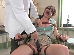 Dana Dearmond comes to a dentist and gets brutally fucked