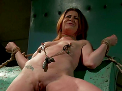 CiCi Rhodes enjoys spanking and fisting in BDSM scene with Isis Love