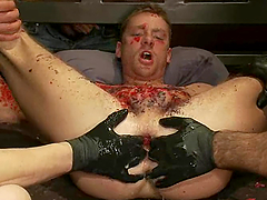 Extreme and hardcore gay BDSM porn video is here