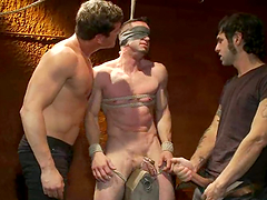Gay BDSM scene with Jason Miller and Parker London