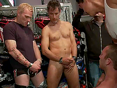 Sebastian Keys, Master Avery And Other Gay Freaks Go Hardcore