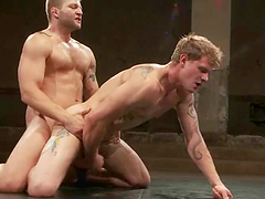 Stunning Trent Diesel Gets Fucked By Colby Jansen After Wrestling