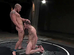Luke jerks off, when Dean Tucker fucks him in ass