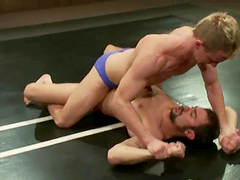 Stunning Scout And Cameron Adams Fight Naked And Go Hardcore