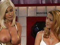 Hot Blonde MILFs Jessica Drake and Puma Swede Have Fun With a Strapon