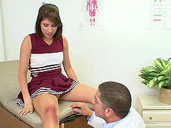 Bella Rey is fucked by her horny gynecologist