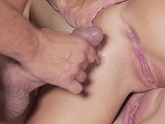 Lovely ladies suck the fucking rod to erection and have it drill their holes rough