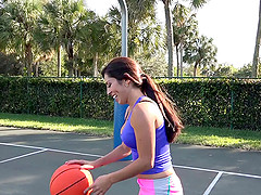 Sofia's favorite things are playing basketball and fucking