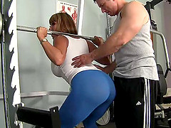 Stacked MILF stunner Ava enjoys riding on top of a hard dick