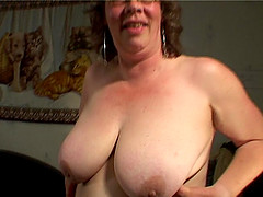 Natural tits mature maiden getting deepthroat smashing