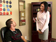 Juelz Ventura looks mind-blowing and Eric just can't wait to bang her!