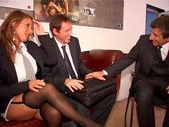 Obedient German Secretaries Pleasing Cocks