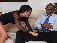 Kendra Secrets wants to feel a black man's erected love tool
