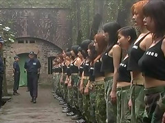 Asian woman soldiers