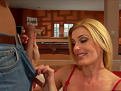 Darryl Hanah is a horny blonde in need of a great shag