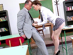 Misha Cross sucks out algebra and fills it with flying colors