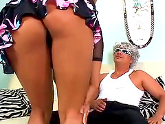 Kinky sexual session with nasty black babe Marie Luv