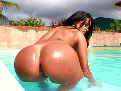 Agatha Moreno has a huge Latina ass that always catches the attention