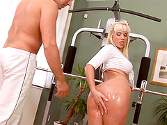Cindy Dollar is a hot blonde who knows how to make a boner stiff