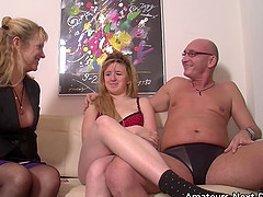 nervous amateurs first threesome