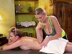 Only one thing pleases Brett Rossi and her friend, and that is masturbating