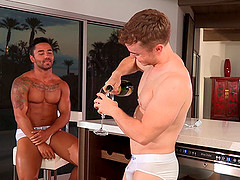 day, purpose blonde slave lick cock orgy consider, that you commit