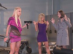 Bobbi Starr and other babes want to get their cunts fucked together