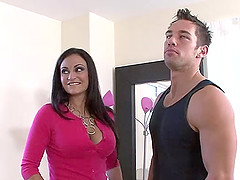 MILF Claudia Valentine gets brutally fucked by young stud