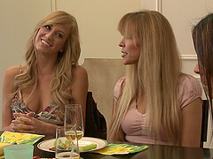 Gentle lesbian love making with Raylene and Brett Rossi