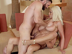 Hardcore gangbanging orgy with Ashley Adams and slutty pornstars