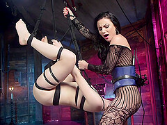 Dolly Leigh and Veruca James are more then ready for a lesbian kinky sex