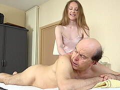Young cutie Emma Fantasy likes it when an older guy fucks her
