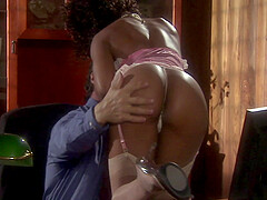 rough fuck after long working day is a paradise for ebony Misty Stone