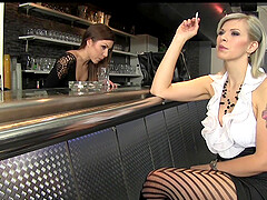 Lena Cova and one more irresistible girl enjoy memorable lesbian sex