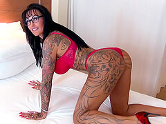 german amateur big tits tattoo milf oil pov fuck