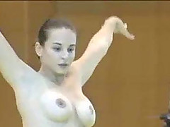 Sexy Romanian gymnast compilation