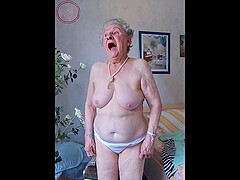 Naked grannies in compilation